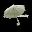 CLEEF.JZUM0022N Esernyő krém-fekete pöttyös, 100 cm