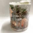 AMB.39110800 Winter Time karácsonyi átvilágítós gyertya 12x10cm