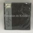 AMB.12504930 Elegance Black papírszalvéta 25x25cm, 15db-os