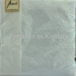 AMB.12506921 Elegance pearl blue papírszalvéta 25x25cm, 15db-os