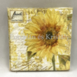 AMB.12509655 Tournesol papírszalvéta 25x25cm, 20db-os