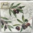 AMB.12509770 Olives papírszalvéta 25x25cm, 20db-os