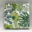 AMB.12510940 Tropical Leaves papírszalvéta 25x25cm, 20db-os