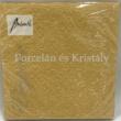 AMB.13304937 Elegance gold papírszalvéta 33x33cm, 15db-os