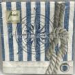 AMB.13310005 Compass And Rope papírszalvéta 33x33cm, 20db-os
