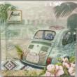 AMB.13310430 Ibiza Life papírszalvéta 33x33cm, 20db-os