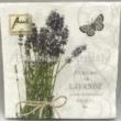 AMB.13311695 Bunch of Lavender papírszalvéta 33x33cm, 20db-os