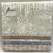 AMB.32512245 X-Mas Fabric karácsonyi papírszalvéta 25x25cm, 20db-os