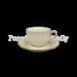 V.B.08848 Puccini Porcelán csésze szett 6 személyes, 12 részes, díszdobozban