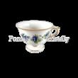 244/A/2373 Szedres cappuccinos talpas csésze 220 ml, 8x12,5 cm