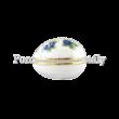 673/2373 Szedres fekvő tojásbonbonier 5,5x7,5x6 cm