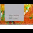 H.C.044-5102 Üveg duplaképes képkeret Van Gogh: Napraforgók, 18x32x0,5 cm