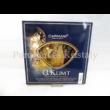 H.C.198-1301 Üvegtál Klimt: Csók, 2x30 cm