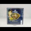 H.C.198-1404 Szív üvegtál Klimt: Csók, 2x18x19 cm