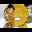 H.C.198-7100 Üveg Süteményeskészlet 8 részes, Klimt: Csók