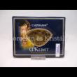 H.C.198-9005 Üveg teafiltertartó Klimt: Adél, 1,5x11,5x16,5 cm