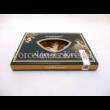 H.C.198-9203 Üveg teafiltertartó Mucha: Ősz, 1,5x10x14,5 cm
