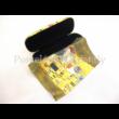 FRI.12591 Szemüvegtok törlőkendővel Klimt: Csók, 6,5x16x7,5 cm