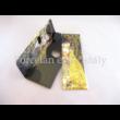 H.C.021-0513 Szemüvegtörlő kendő Klimt: Csók, 20x20 cm