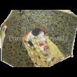 H.C.021-6505 Esernyő Klimt: Csók-Életfa, fekete 100 cm
