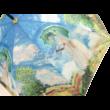 H.C.021-6602 Esernyő Monet: Nő esernyővel 100 cm