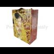 H.C.036-1501 Kétoldalas ajándéktasak Klimt: Adél és Csók, 23x18x10 cm