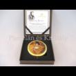 H.C.181-1011 Nagyítós piperetükör Klimt: Adél, 1x7,5 cm
