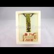 Nagy medál, álló téglalap, Klimt: Életfa, 6x1,5 cm