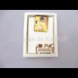 Nagy medál, álló téglalap, Klimt: Csók, 4x3,5 cm