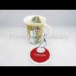 H.C.539-8104 Porcelánbögre 350 ml, Mucha: Tél