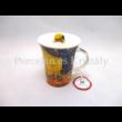 H.C.830-8110 Porcelánbögre 350 ml, Van Gogh: Kávéház éjjel