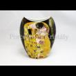 P.P.W3B15-24795 Porcelán váza 20x16x6 cm, Klimt: Csók