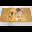 P.P.W4A44-16483 Porcelán tálca 2,5x30x13,5 cm, Klimt: Csók