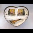 P.P.W4B34-16544 Porcelán Nonfiguratív mini-tea szett 2 személyes, 6 részes, Klimt: Csók