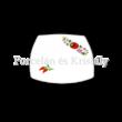 Kalocsai Hungarikum csemegetányér 2x19,5x19,5cm
