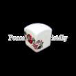 Kalocsai Hungarikum sószóró 5x4,5x4,5cm