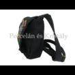 Kistáska Kalocsai, fekete-színes 18x16x6cm