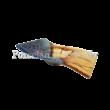 Blue Oasis Téglalap formájú gyertyatartó 5x20x13 cm