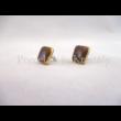 8422 Ginkgo ékszer szett barna, 2 részes