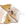 194/059 Rombusz kínálótál búzavirágos, 3x18x10 cm