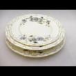 9335/059 Csemegetányér búzavirágos, 2,2x20,5 cm