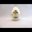 10369/3/7844 Álló tojás bonbonier nagy, 12x8,5 cm