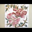 10513/3/8634 Falikép virágos, 15x15 cm