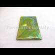 10506 Mária falikép zöld eosin, 17,5x10,5x2 cm