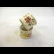 9335/026 Szalvétagyűrű pillangós, 4x5 cm