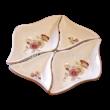 194/026 Rombusz kínálótál pillangós, 3x18x10 cm