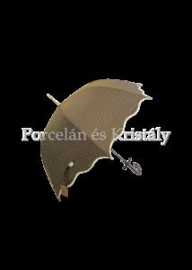 CLEEF.JZUM0022CH Esernyő barna-fehér pöttyös, 100 cm