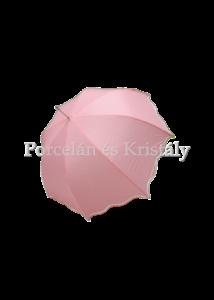 CLEEF.JZUM0022P Esernyő rózsaszín-fehér pöttyös, 100 cm