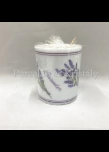 P.W.ADL120103 Lavender for You átvilágítós gyertya 12x10cm