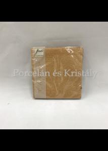 AMB.12505513 Elegance bronz papírszalvéta 25x25cm, 15db-os